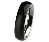 EDvita Ring, Edelstahl, Keramik R274.53