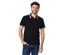 Poloshirt, Kurzarm, Ripp-Bündchen