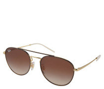 """Sonnenbrille """"Rb3589"""", Piloten-Stil, braun-"""