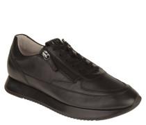 Sneaker, Lammleder, seitliche Reißverschlüsse