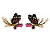 Ohrringe, AFOR113T/1, Schmetterling, Rosenknospe