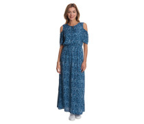 Maxikleid, Paisley-Muster, Cold-Shoulder, Taillenzug
