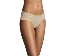 "Panty ""Avero"", Stickerei, Karo-Design"