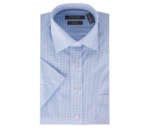 Businesshemd, Comfort Fit, Kurzarm, bügelfrei, Kent-Kragen