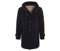 Mantel, Woll-Anteil, Kapuze, zusätzlicher Knebelverschluss