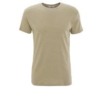 T-Shirt, Baumwoll-Mix, gestreift