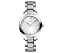 Armbanduhr SO-2489-MQ mit Edelstahl Armband
