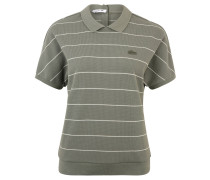 Poloshirt, Knopfleiste hinten, gestreift