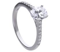 Ring  mit weißem