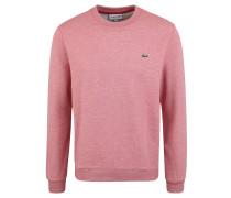 Sweatshirt, meliert, Rundhals, Logo-Stickerei