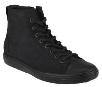 Sneaker, Leder, Schnürung, Reißverschluss