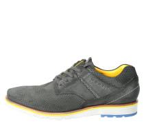 """Sneaker """"Manolo"""", Veloursleder, symmetrisches Muster"""