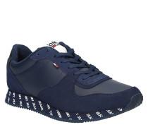 """Sneaker """"City Sneaker"""", Print-Sohle, Leder-Details"""
