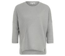 Pullover, 7/8-Arm, Rippstrick-Muster, Fledermausärmel