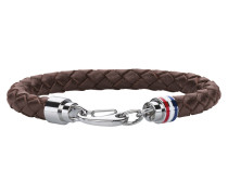 MEN'S CASUAL Armband Leder schwarz 2700510