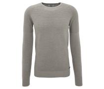 Pullover, Baumwolle, Melange, strukturiert