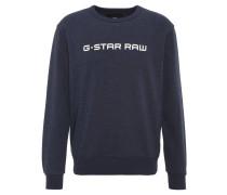 Sweatshirt, Baumwoll-Mix, Rundhals, Marken-Print