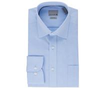 Businesshemd, Kent-Kragen, bügelfrei, Langarm, Baumwolle