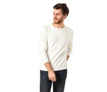 Pullover, Strick, Baumwolle, Rollsaumabschlüsse