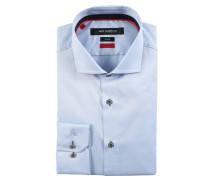 Business-Hemd, Slim Fit, Baumwolle, bügelleicht