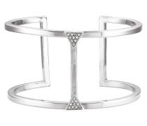 Armschmuck Messing rhodiniert mit Kristallen Messing rhodiniert grau 430060072