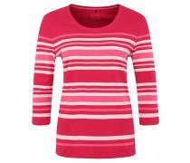 Shirt, 3/4-Arm, Streifenmuster, Baumwolle