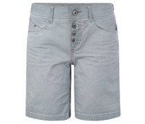Shorts, Ziernähte, Knopfleiste, Used-Look