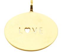 """Love"" Medaille Anhänger PME-03.G"