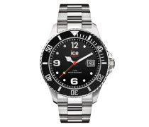 ICE steel - Black silver - Large - 3H 016032 Herrenuhr