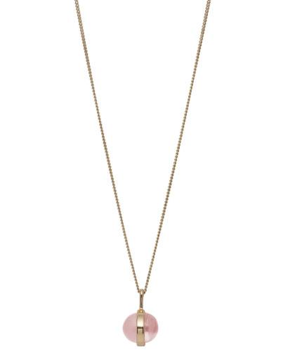 Halskette Rumer Vergoldet Rose 601822751
