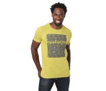 T-Shirt, Rundhalsausschnitt, geometrischer Print