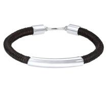 Armband Haken Basic Textil 925 Sterling Silber