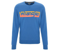 Sweatshirt, Logo-Print, Rundhalsausschnitt