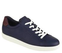 """Sneaker """"Soft 1"""", Leder, kontrastfarbene Details, perforiert"""