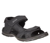 Sandalen, uni, Klettverschluss