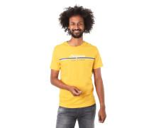 T-Shirt, Logo-Print, reine Baumwolle