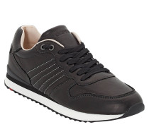 "Sneaker ""Edico"", Glattleder, Ziernähte"