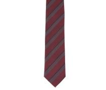 Krawatte, reine Seide, Streifen
