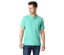 Poloshirt, Kurzarm, Brusttasche, uni