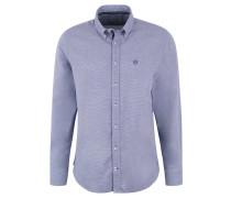 Freizeithemd, Modern Fit, Webmuster, Button-Down-Kragen