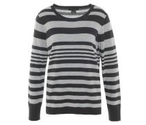 Pullover, gestreift, Wolle-Anteil, Rundhals, Bündchen