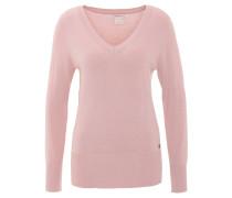 Pullover, uni, V-Ausschnitt, Bündchen