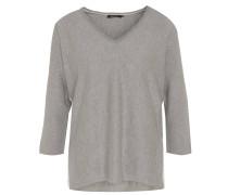 Pullover, 3/4 Arm, V-Ausschnitt, unifarben