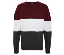 Sweatshirt, Blockstreifen, Rundhalsausschnitt