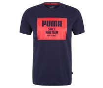 """T-Shirt """"Rebel"""", Baumwolle, Logo-Print"""