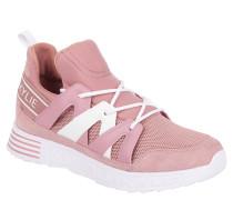 XL-Sneaker, strukturierte Sohle, Schnürung, zweifarbig