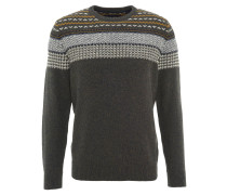 Pullover, Jacquard-Muster, Baumwoll-Mix