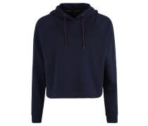 Sweatshirt, cropped, Kapuze, Logo-Print