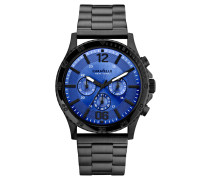 "Herrenuhr ""Blue Story Black+"" 45A106, Chronograph"