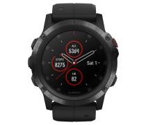 """Smartwatch """"fenix 5X Plus Sapphire"""" 010-01989-01"""